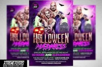 1812295 Halloween Flyer Template 2872098 6