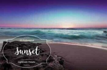 1812304 Sunset Lr Presets 2964964 2