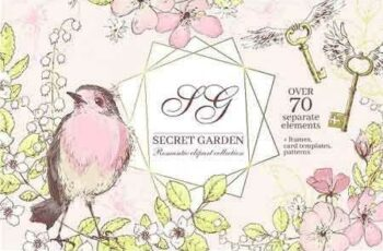 1812309 Secret Garden graphic kit 2904588 3