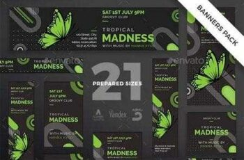 1812322 Tropical Madness Banner Pack 20714209 5