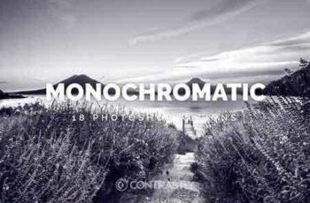 1812327 Monochromatic Photoshop Actions JK4AVQ 4
