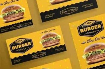 1812328 Burger House Flyers 20835747 3