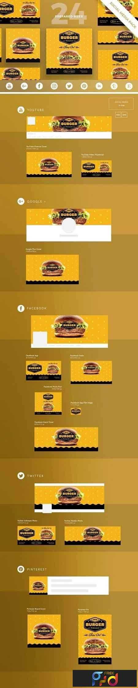 1812330 Burger House Social Media Pack 1963656 1
