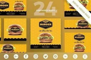 1812330 Burger House Social Media Pack 1963656 6