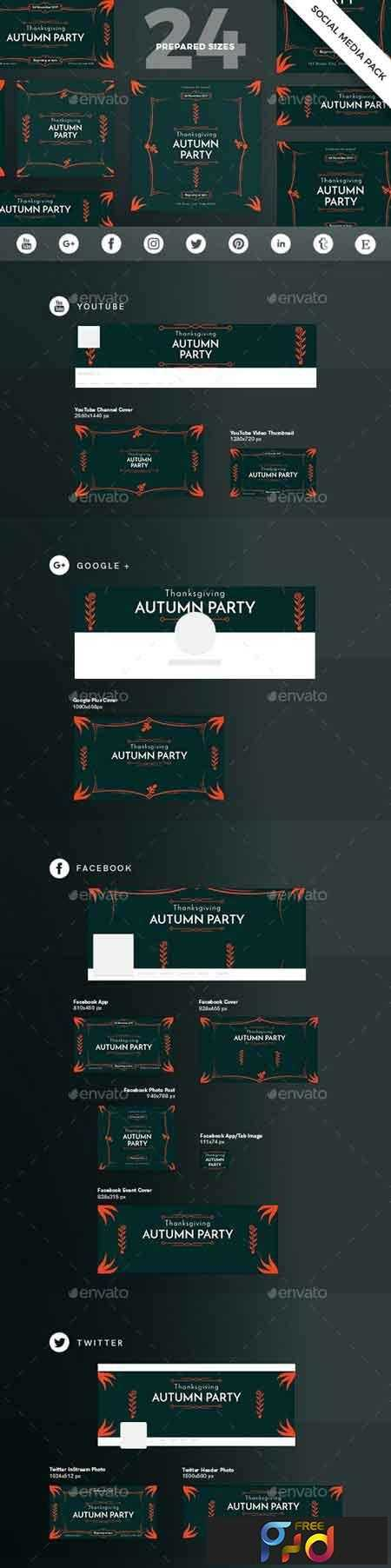 1812344 Autumn Party Social Media Pack 20769397 1