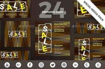 1812350 Black Friday Social Media Pack 20823791 5