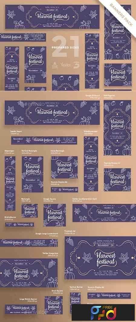 1812358 Harvest Festival Banner Pack 20829465 1