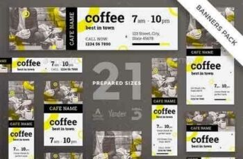 1812376 Coffee Shop Banner Pack 20878063 3