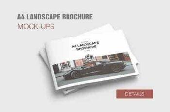 A4 Landscape Brochure Mockup 2802052 5