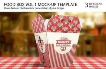 Food Box Vol.1 Mock-up Template 3859 7