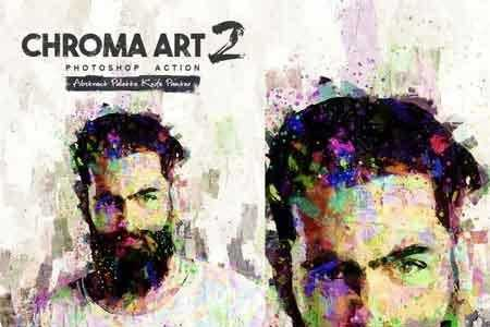 Chroma Art 2 Photoshop Action 22586443 - FreePSDvn