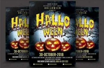 Halloween Party Flyer 2906705 4