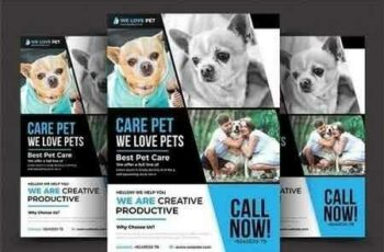 Pet Shop Flyer Template 2906712 7