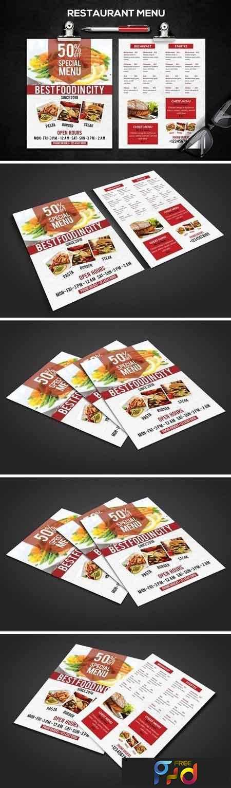 Restaurant Menu 2653601 1