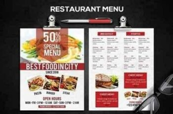 Restaurant Menu 2653601 2