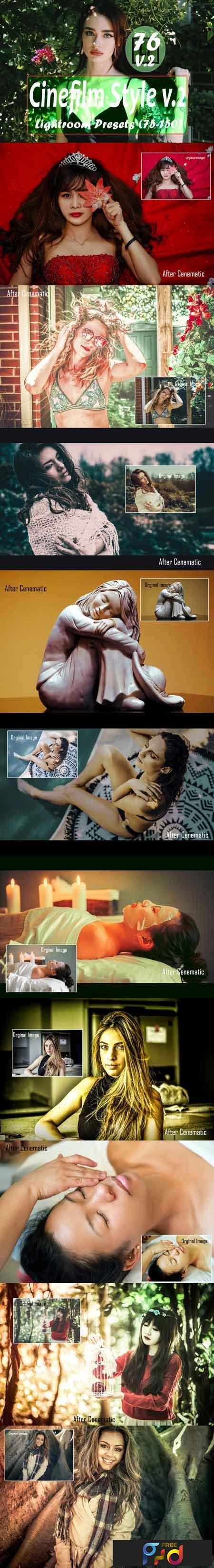 Cinefilm Style v.2 (75 to 150) Lightroom Presets 3494006 1