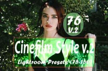 Cinefilm Style v.2 (75 to 150) Lightroom Presets 3494006 3