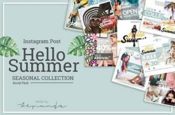 HELLO SUMMER instagram post 2852598 3