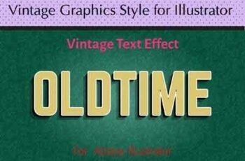 Vintage Graphics Style for Illustrator 22474418 4