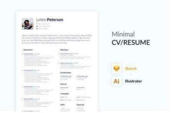 Minimal CV RESUME 2660171 10