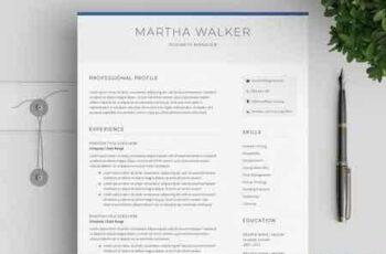 Resume & Cover Letter CV Template 2652289 9