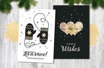 Black & White Christmas Cards 1924516 5