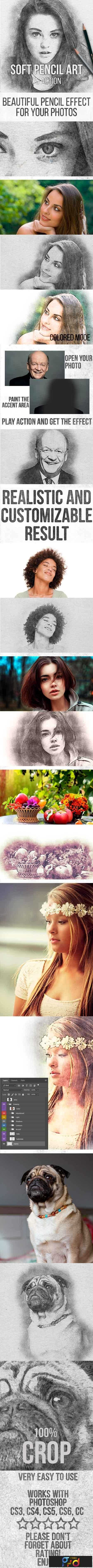 Soft Pencil Art Action 22581121 1
