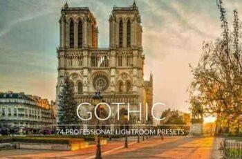 Gothic Lr Presets 7