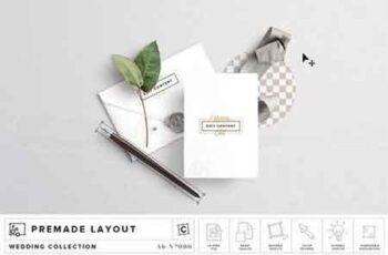 Invite & Envelope Mockup 2763360 6