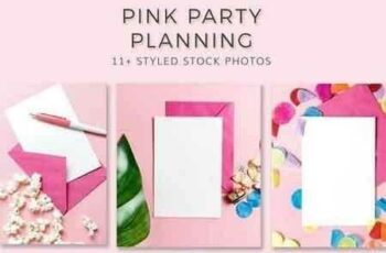 Pink Party Stationary Bundle 2598265 3