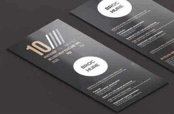 2x DL Flyer & Brochure Mock-Up 1 2798687 3