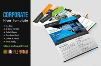 Corporate Flyer Template 2873834 5