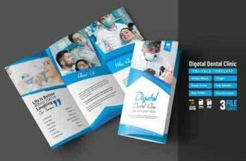 Digetal Dental Clinic Tri-Fold 2838233 5