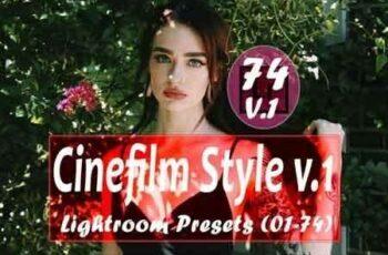Cinefilm Style v.1 Lightroom Presets 3