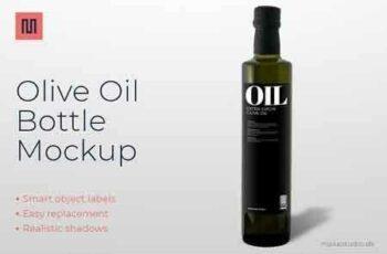 Olive oil - Bottle mockup 2796269 3