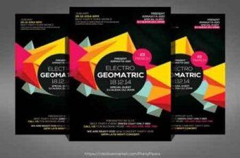 Geometrik Flyer Psd 3487981 7