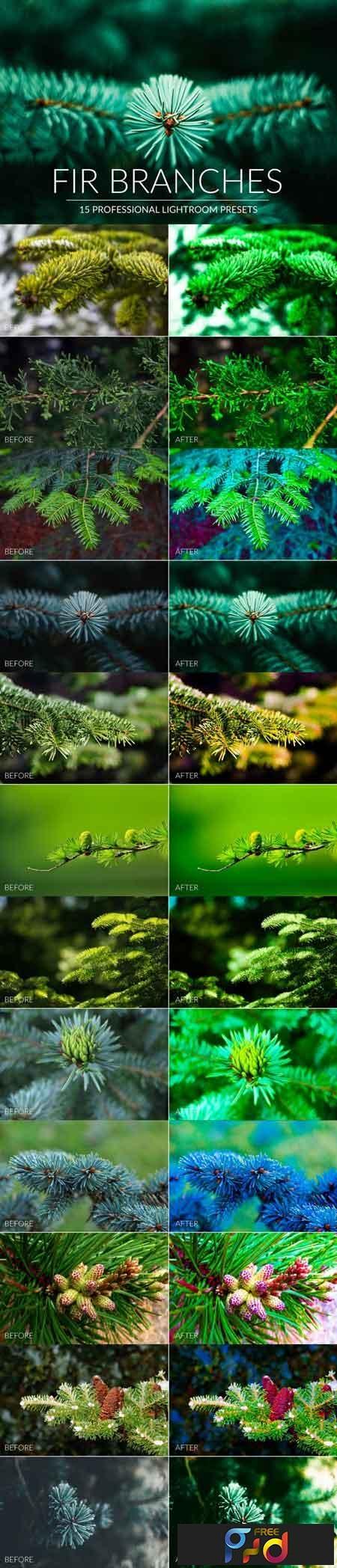Fir Branches Lr Presets 1