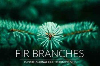 Fir Branches Lr Presets 5