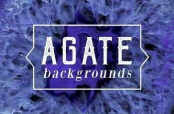40 Agate Backgrounds 5