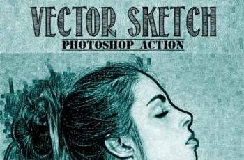Vector Sketch Photoshop Action 22591073 6