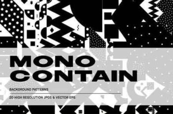 Mono Contain - Background Patterns 5