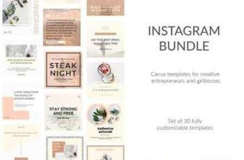 30 Instagram Canva DIY Templates 2977440 3