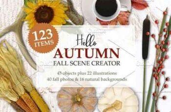 Autumn Mockup Scene Creator 2952342 7