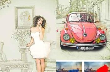 Super Pro Sketch Painting Photoshop Action 22444544 9