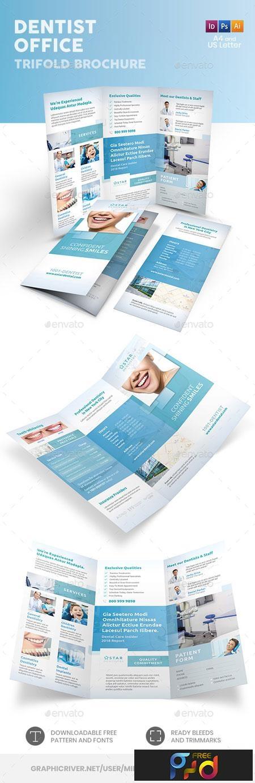 Dentist Office Trifold Brochure 6 22590211 1