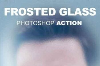 Frosted Glass Photoshop Action 18344266 7