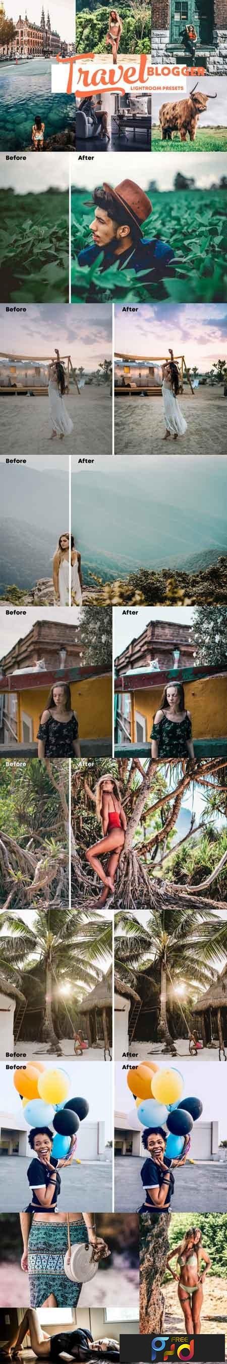 Travel Blogger - Instagram Lightroom Presets 1