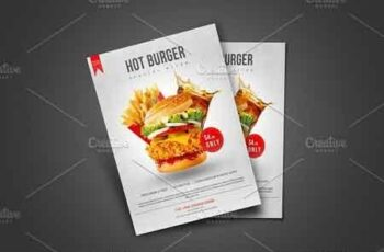 Burger Flyer Template 2966324 15