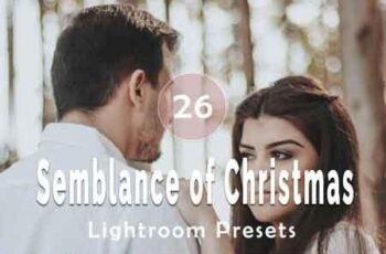 Semblance of Christmas Lightroom Presets 6