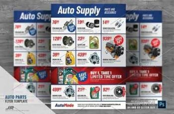 Auto Parts and Supply Flyer 2945700 4